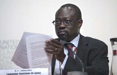Lumumba Stanislaus Di-Aping was the chief negotiator for the G77 in Copenhagen at the United Nations Climate Change conference. He said that the policies of the western imperialist states will cause the deaths of millions in Africa. by Pan-African News Wire File Photos