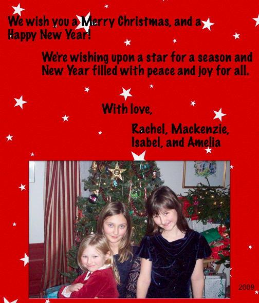 2009 Christmas Card