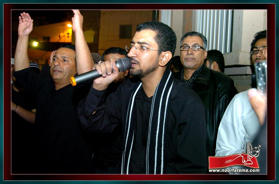 موكب عزاء مأتم محمود بمشاركة