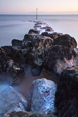 rock groyne (wilmag75) Tags: longexposure sunset beach rock 1020 groyne climpingbeach leendgrads
