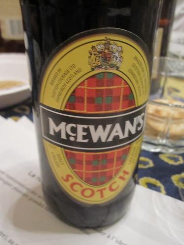 Bière écossaise pour se faire un fond