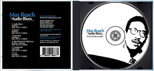 "Max Roach - ""Audio Blues"" CD (opened jewelcase)"