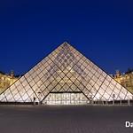 Paris, France - Louvre Pyramid