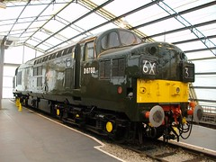 D6700 (markkirk85) Tags: york museum train engine rail railway loco class national locomotive 37 nrm 37119 37350 d6700
