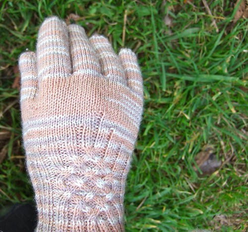 Single Knotty Glove