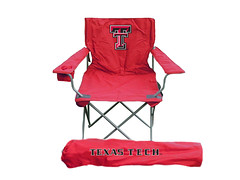 Texas Tech TailGate Folding Camping Chair