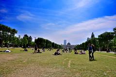 lazy day (my lala) Tags: park paris france grass sunny lazy