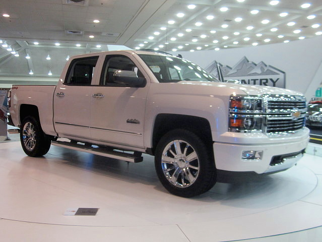 truck pickup chevy silverado 1500 carshow highcountry 2014 baltimoremd baltimoreconventioncenter motortrendinternationalautoshow