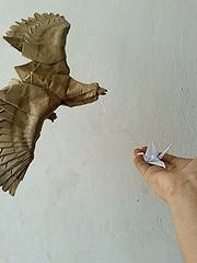 eagle - nguyen hung cuong (javier vivanco origami) Tags: javier vivanco origami ica peru eagle nguyen hung cuong