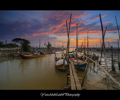 Kuala Sungai Dedap | Sunset (YasirLatib (come back)) Tags: malaysia asia everyone autumn beach black blue bw canon clouds color day fall family film flower friends fun garden geotagged green holiday instagramapp iphoneography island photography nature night nikon square squareformat summer sun sunset photo photographer photograph vacation travel sea sky water tree trees yellow yasirlatib landscape photos kedah boat sunrise trip yasir yasirabdlatib macro love light