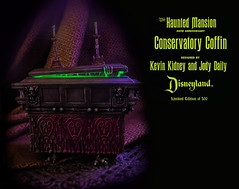 Haunted Mansion Conservatory Coffin