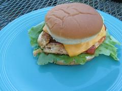 Kraft's Southwest Chicken Ranch Sandwich