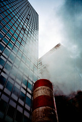 Steamy NY Nights (AndyWilson) Tags: newyork film 35mm lomo lca kodak nightime zenit 100asa ektar