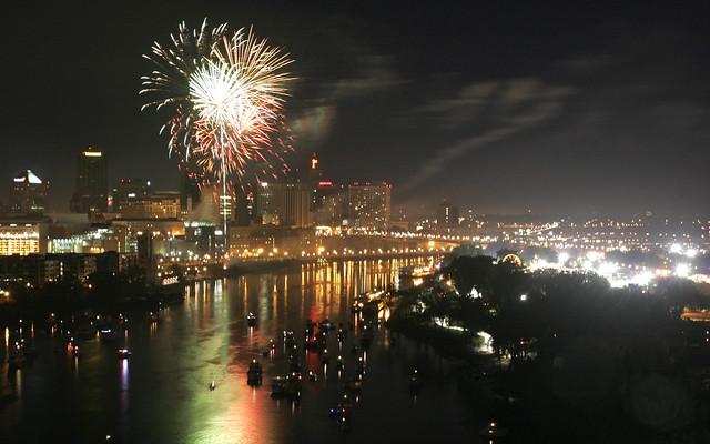 Independence Day Fireworks - St. Paul