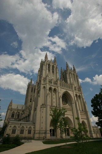 The beautiful Washington Cathedral...