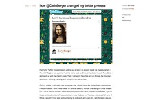 how @CarinBerger changed my twitter process - collapse and delight_1247225006010