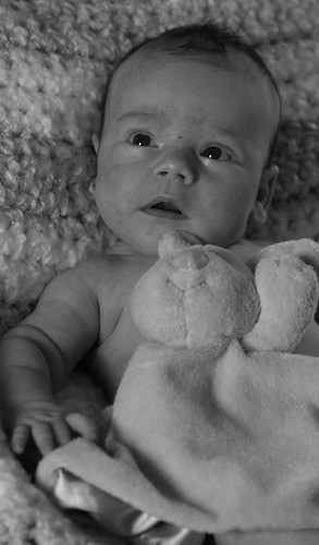 Colin 1 Month Old
