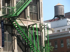 Green Fire Escape by edenpictures, on Flickr