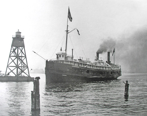 Duluth Harbor 1890