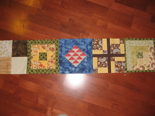 Row for Underground Railroad Quilt 2