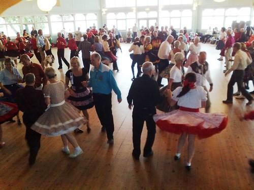 Square Dance in Mariestad Sweden #1
