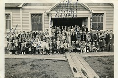 Calvary Pentecost Sunday School, Lakeview, OR (K. Horn) Tags: family bw church oregon vintage lakeview pentecostal awp vlp