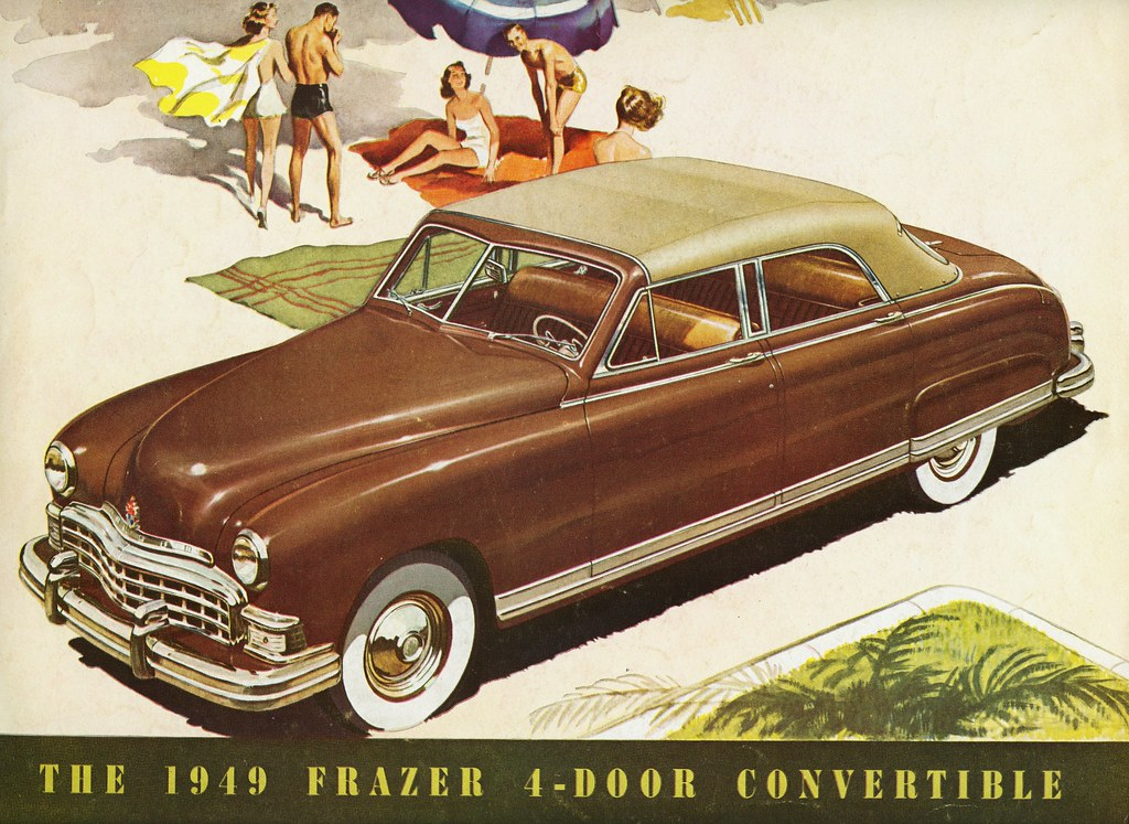 1949 Frazer 4-Door Convertible