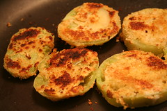My fried green tomatoes
