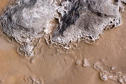 really nice sinter formation at upper geyser basin