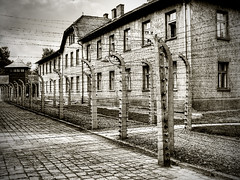 Auschwitz (Kim Ledin) Tags: germany nazi poland krakow jew auschwitz barbwire hdr concentrationcamp minoltadimagez3 holocaoust mygearandme mygearandmepremium mygearandmebronze