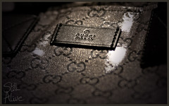 Gucci (Still Alive ..) Tags: italy macro closeup canon bag micro kuwait 60mm q8 cucci stillalive 400d moiq8