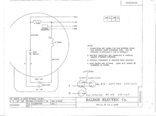 Baldor Wiring Diagram