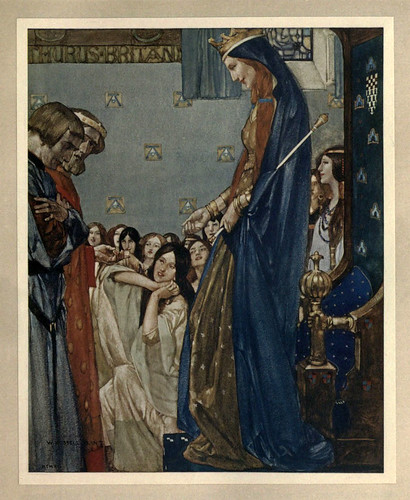 019 -Le morte Darthur 1921- William Russell Flint