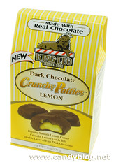 Dark Chocolate Lemon Crunchy Patties