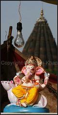 Lord Ganesha in an Idol shop near Krishna Pura Indore (Faizan Khan) Tags: india festivals ganesh elephantgod indore hindu hinduism ganpati hindugod indianfestival ganeshotsav siddhivinayak ganpatibappa ashtvinayak