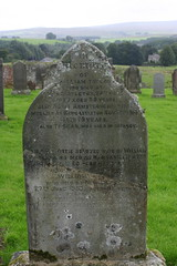 Grave of William Taylor - 1877 and Agnes Armstrong