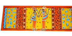 tapete passadeira africanas (ATELIER DE ARTES DA SILVOCA) Tags: handmade african artesanato tapete decorao presente artesania manualidades decorativearts africanas passadeira poparts pinturaemtecido emborrachado artpainters