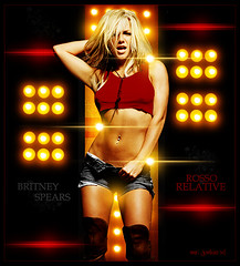 Rosso Relative [ Britney Spears ] (Mr.JunkieXL) Tags: red love matt french lights italian die spears circus madonna britney rosso relative creep supreme profusion pokora rxljunkieboy xdono