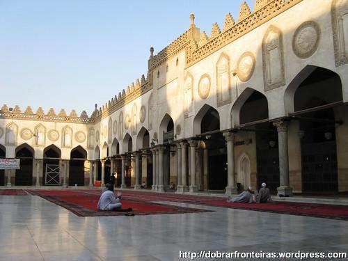 Mesquita de Al-Azhar, cairo, Egipto