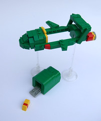 Thunderbird2b (Rogue Bantha) Tags: lego thunderbirds thunderbird2 thunderbird1