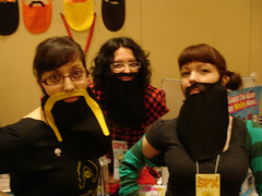 Small Press Expo (SPX) 2009: The Bearded Ladies!