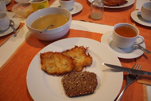 Reibekuchen! (potato pancakes)