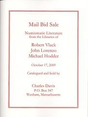 Davis 2009October sale
