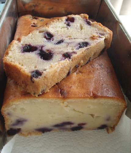 Blueberry Loaf Up Close