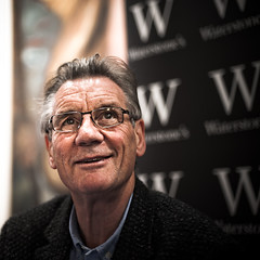 Michael Palin (TGKW) Tags: travel portrait people book michael hall concert glasgow royal comedian actor writer python signing monty waterstones palin 9225