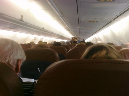 Ptw Inside of Plane to New York
