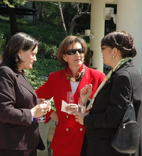 Women Business Leaders at the Ambassador Simons' residence