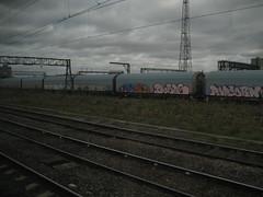 Dorps - Dorps - Popcorn (Tatty Seaside Town) Tags: london graffiti graf freight wembley dorps tattyseasidetown october2009