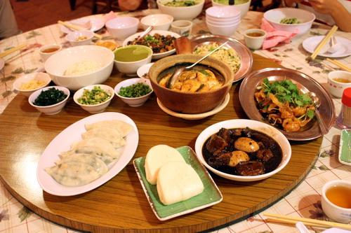 Ho Poh Yuen Food Spread