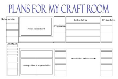 plans for craft room